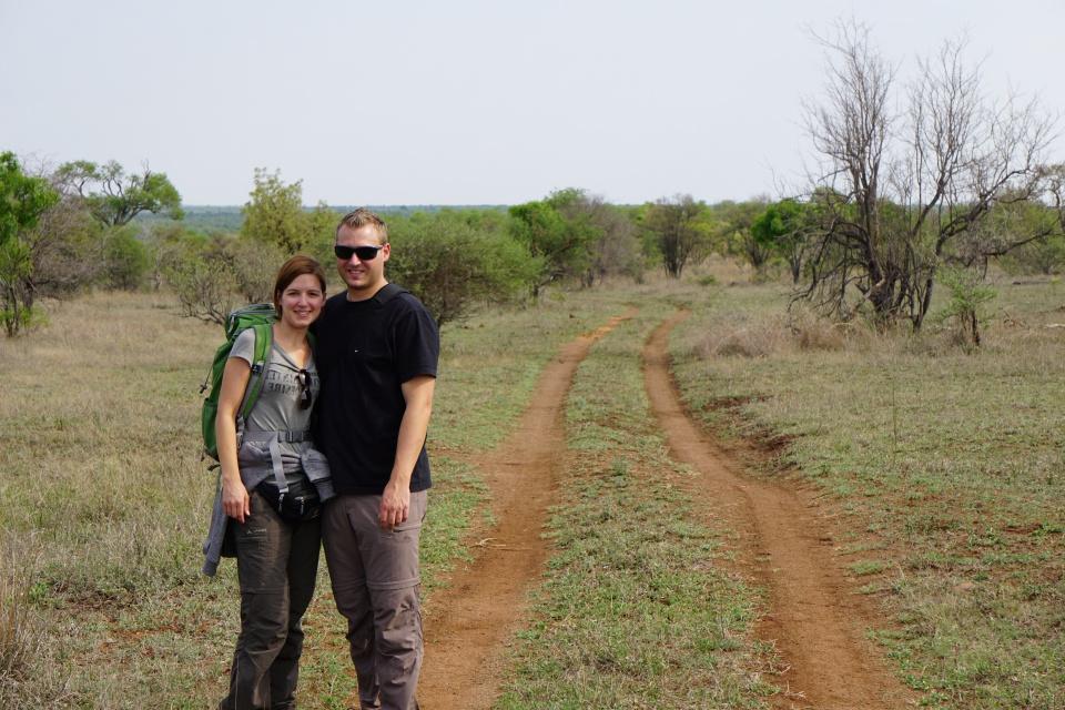 Beim Morning Walk durch den Kruger Nationalpark