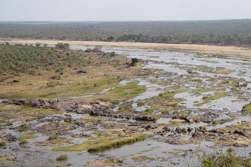 Ausblick vom Olifants Camp im Kruger Nationalpark