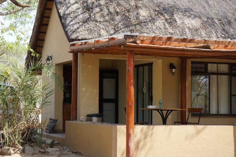 Unsere Unterkunft, ein Rondell im Kruger Nationalpark, Orpen Camp