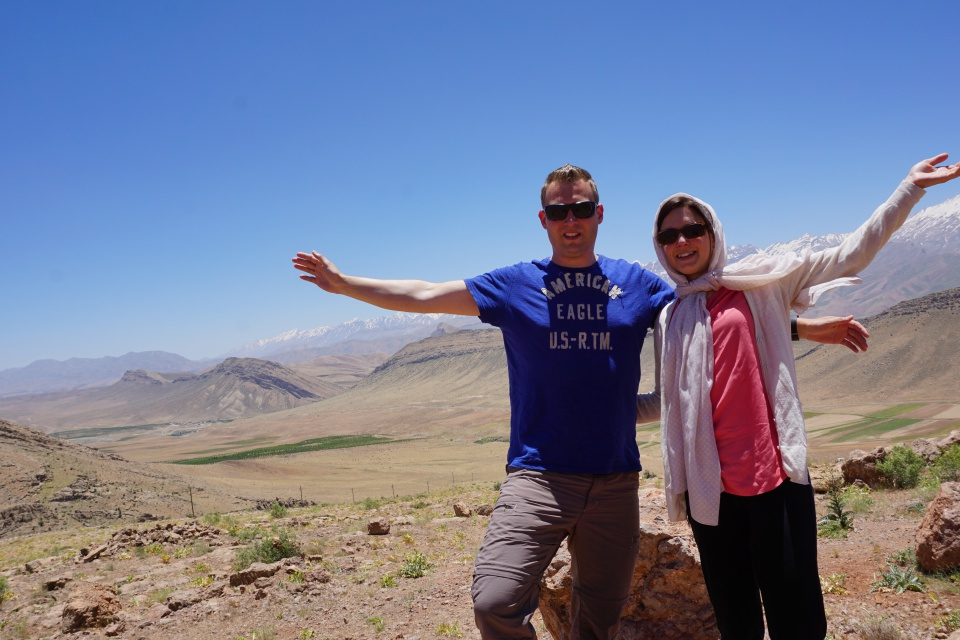 Berge im Iran