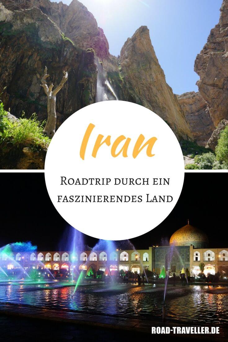 Unsere Roadtrip-Route durch den Iran. Mit vielen Tipps, Infos zu Unterkünften und Highlights für deine Individualreise.
