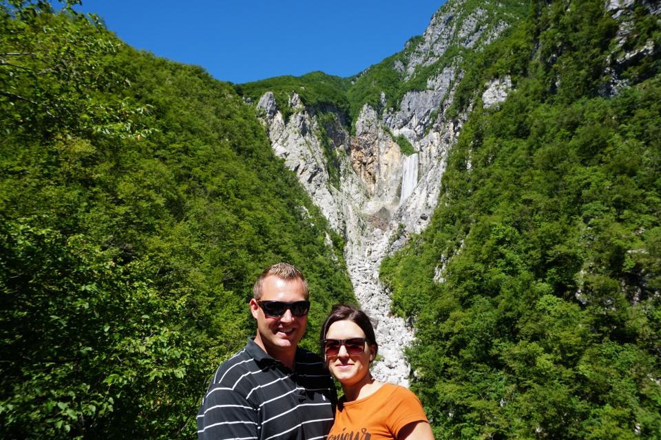Slap Boca - der hoechste Wasserfall Sloweniens