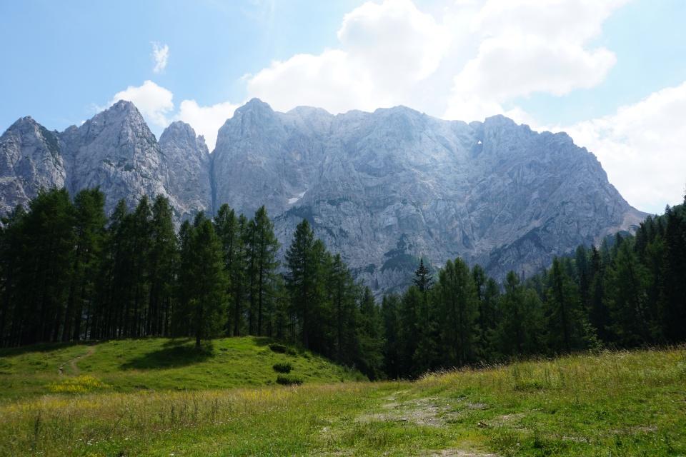 Berglandschaft im Triglav Nationalpark