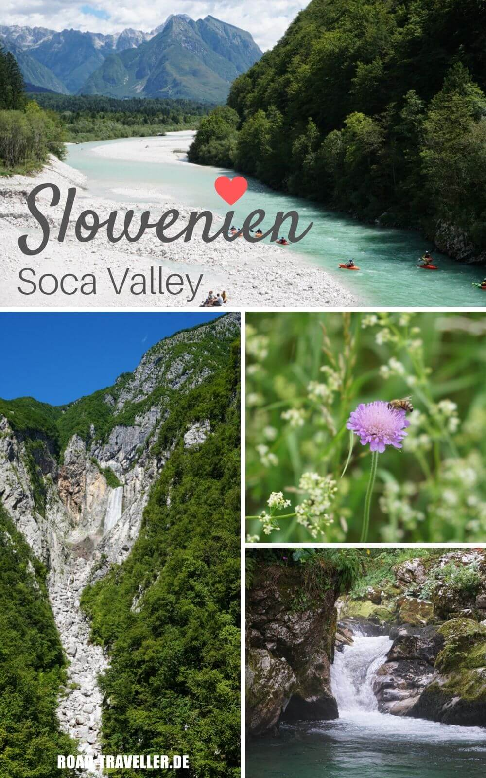 Outdoor Highlights im Soca Tal in Slowenien
