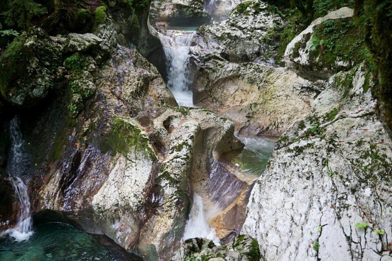 Sunikov Vodni Gaj im Soca Tal Slowenien