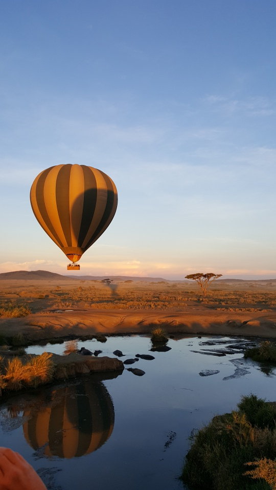 Tanzania Serengeti Hot air balloon