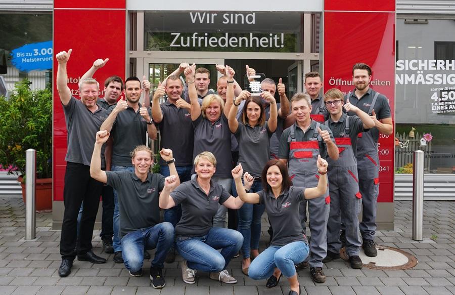 Unser Team vom Toyota Autohaus Metzger