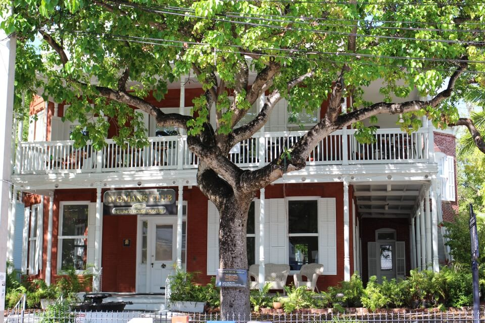 Architektur in Key West. Es macht Spaß, einfach so durch die Straßen zu schlendern