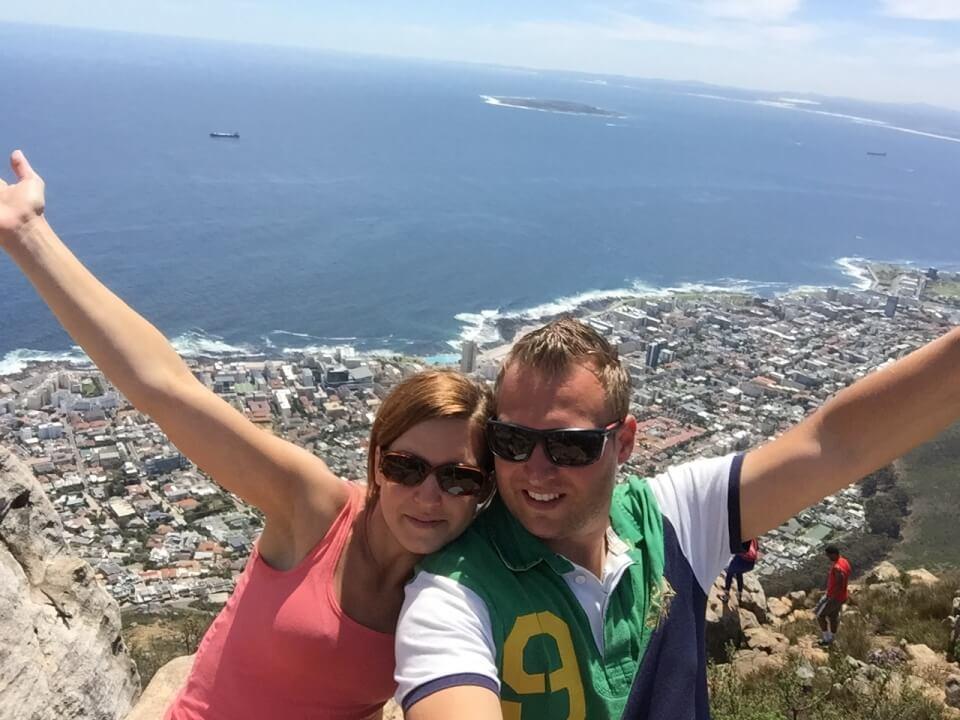 Warum wir das Reisen lieben. Lisa und Marco in Kapstadt Suedafrika