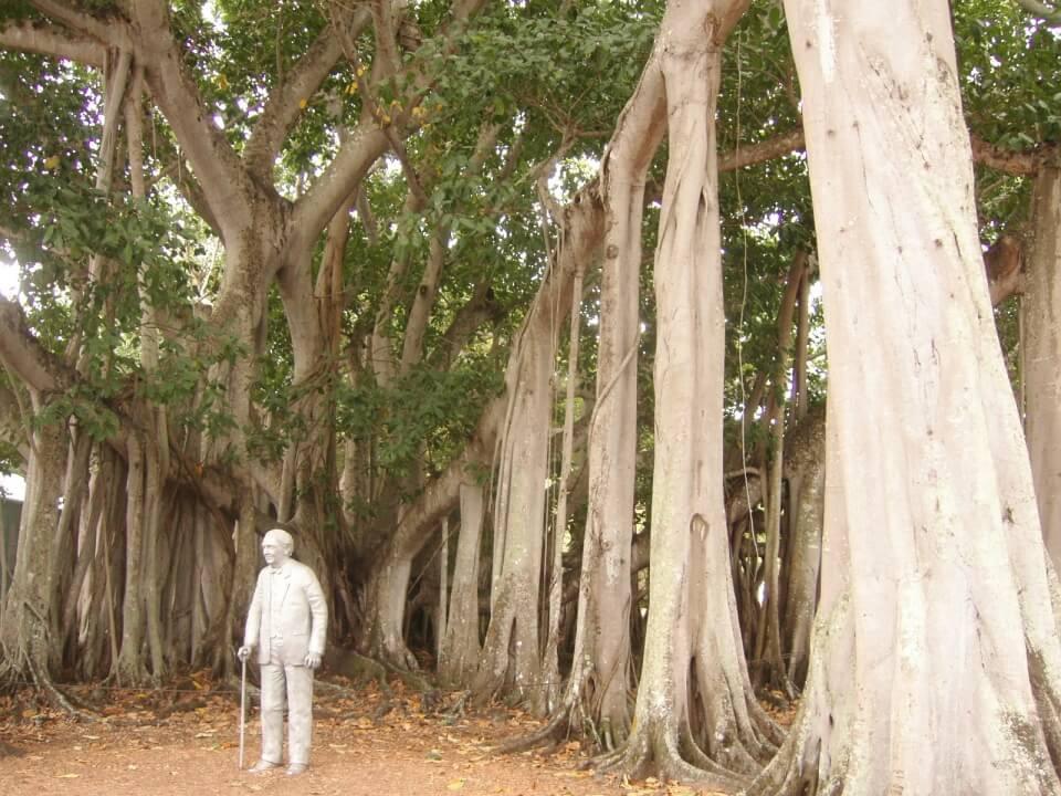 Das Ferienhaus des beruehmten Erfinders Thomas Edison in Fort Myers Florida