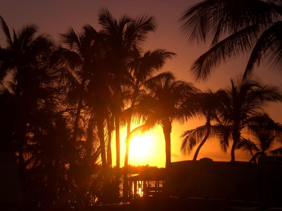Sonnenuntergang an der Westkueste Floridas