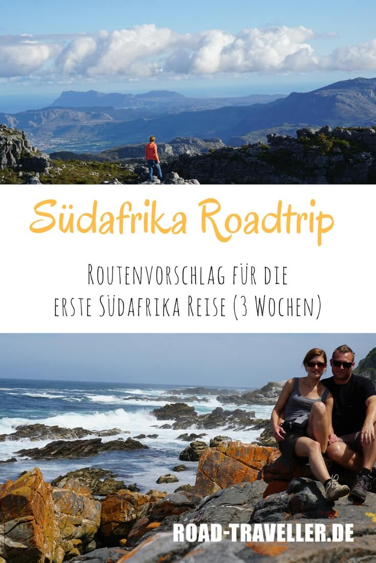 Suedafrika Roadtrip - eine Einsteigerroute für drei Wochen. Mit Route, Tipps, Highlights und Kosten