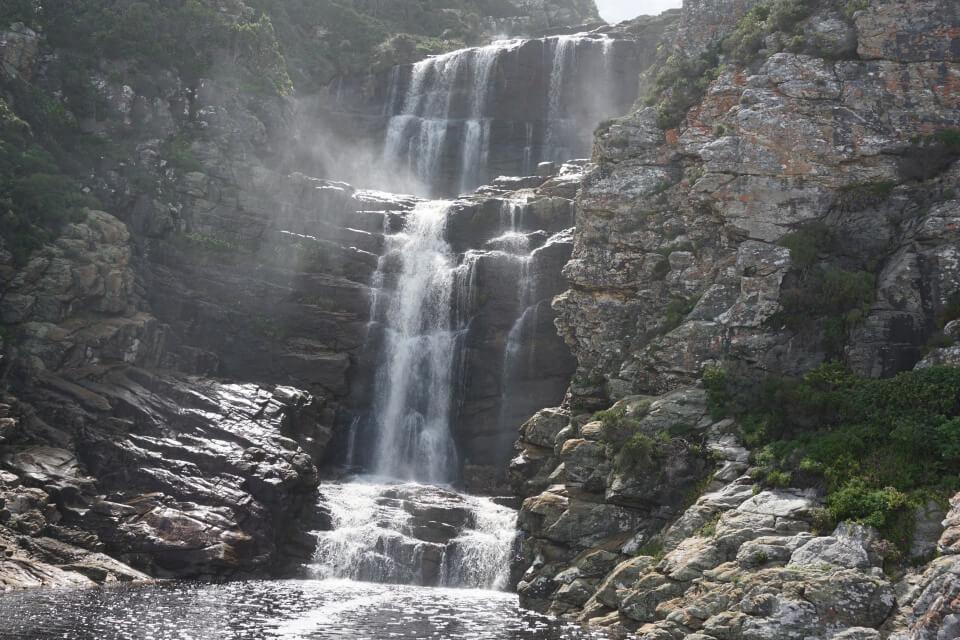 Wasserfall im Tsitsikamma Nationalpark - Waterfall Trail