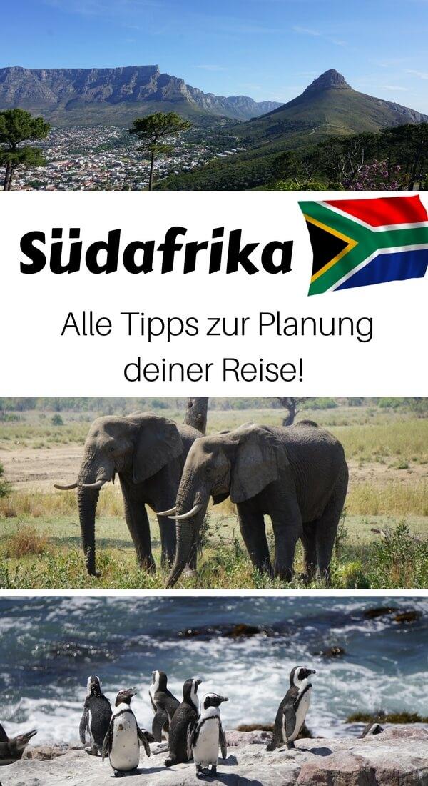 Umfassender Reise-Planer für deine Reise auf eigene Faust nach Südafrika. Mit Tipps zu: Anreise, Sicherheit, beste Reisezeit, Gesundheit, Kosten u.v.m.