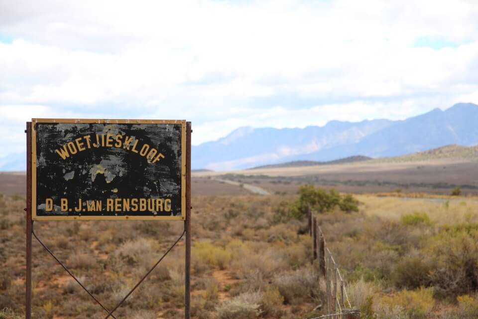 Die Route 62 durch die Halbwueste der Kleinen Karoo