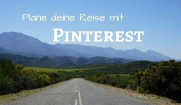 Plane deine Reise mit Pinterest und dem Reiseblog Road Traveller. Der Reiseblog fuer Roadtrip Fans von Lisa und Marco.