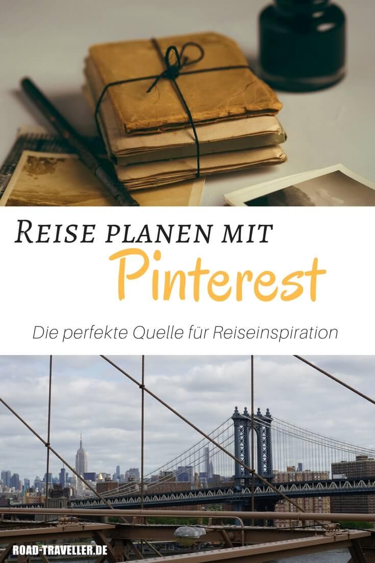 Plane deine Reise mit Pinterest. Hier findest du die beste Inspiration und Tipps fuer deinen Urlaub.