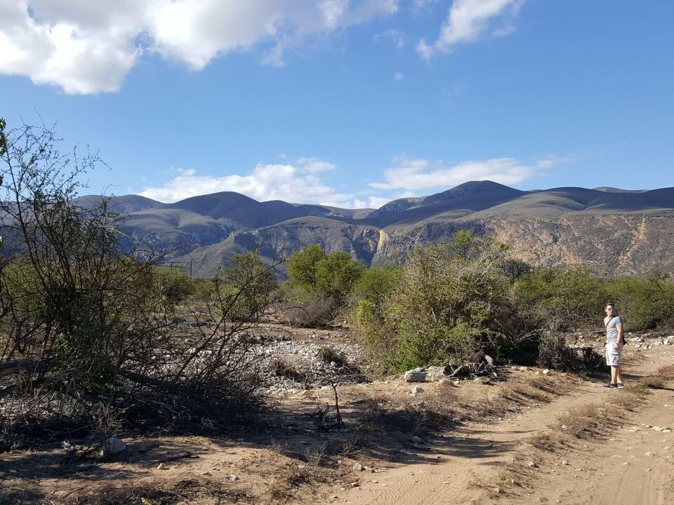 Wanderung auf der Sederkloof Farm im Baviaanskloof Nature Reserve