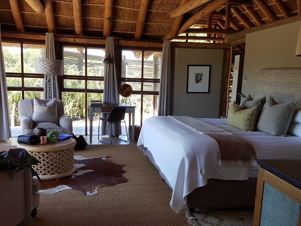 Unglaublich tolle Bungalows im Kwandwe Private Game Reserve