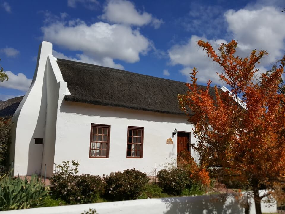 Kapphollaendische Architektur in Montagu