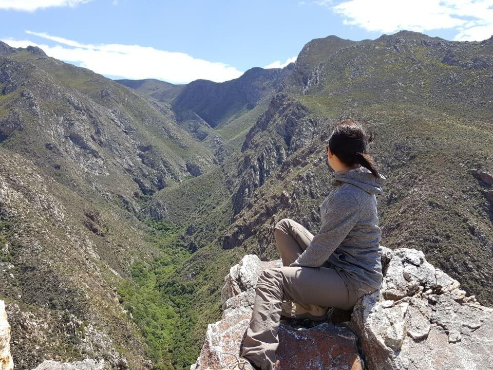 Tolle Landschaft beim Wandern im Montagu Mountain Reserve