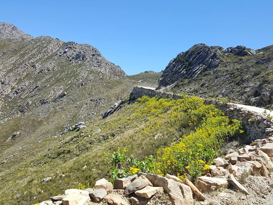 Der Swartbergpass bei Oudtshoorn in Suedafrika