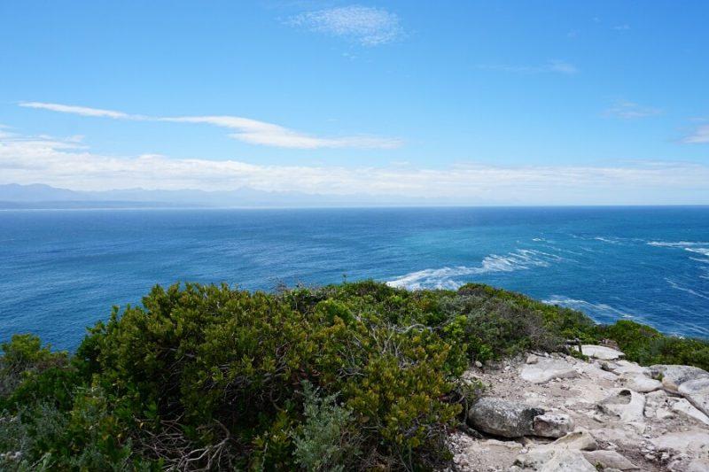 Ausblicke im Robberg Nature Reserve in Suedafrika
