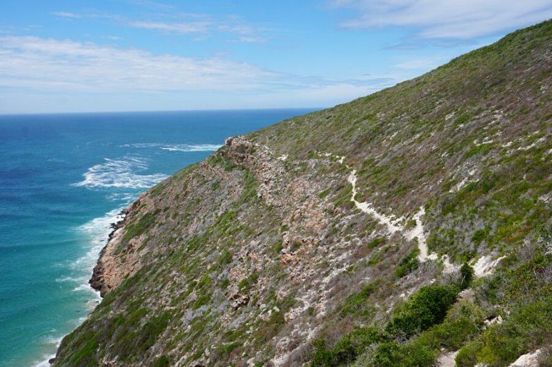 Wanderweg im Robberg Nature Reserve an der Garden Route
