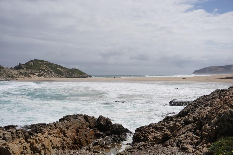 """""""Die Eiland"""" - ein Strandabschnitt im Robberg Nature Reserve"""
