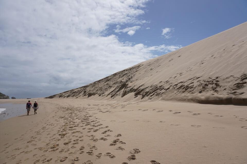 Die Eiland - Strand im Robberg Nature Reserve
