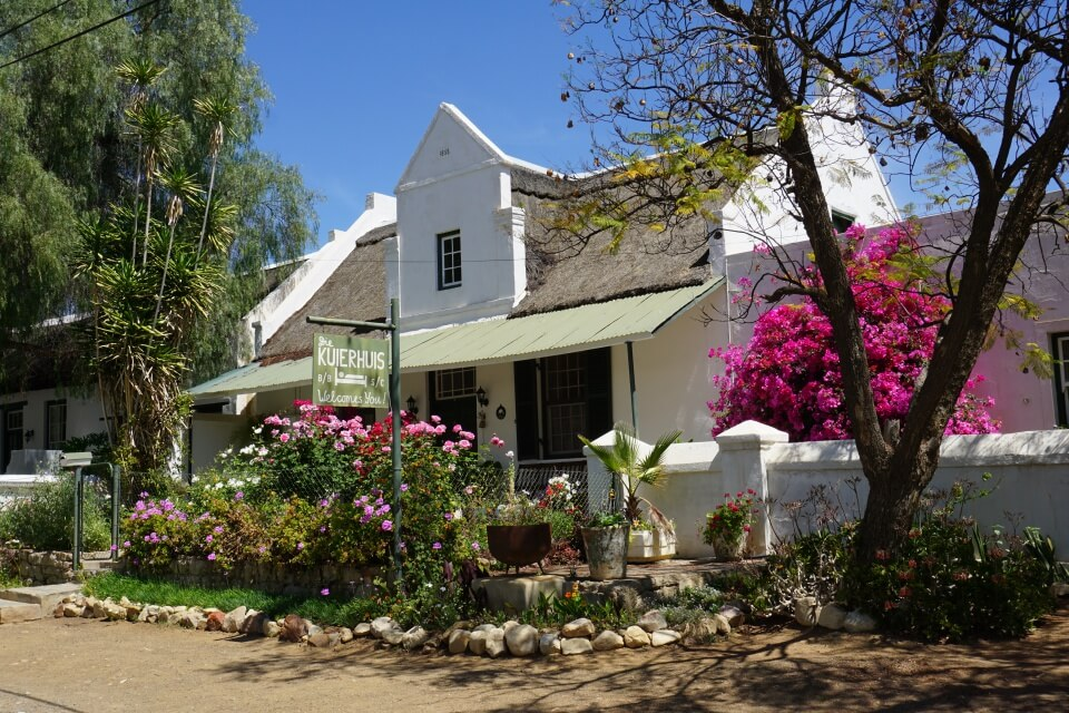 Prince Albert in der Kleinen Karoo hat uns mit seiner Architektur unglaublich gut gefallen