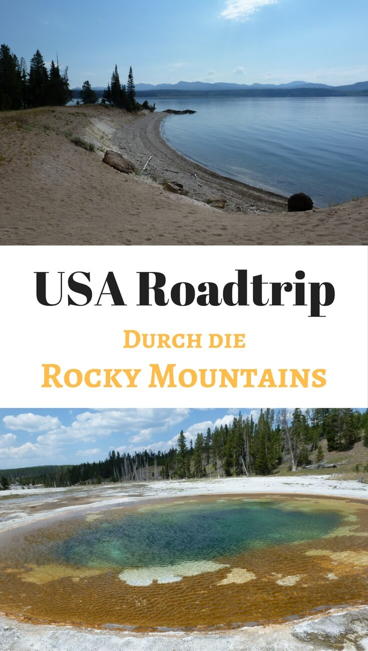 Ein Roadtrip durch die amerikanischen Rocky Mountains. Unsere Route, Tipps und Highlights. Entdecke mit uns den Yellowstone Nationalpark, Mount Rushmore, atemberaubende Natur und Western-Feeling.