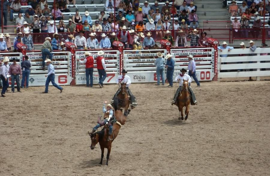 Cheyenne Frontier Days - Rodeo in Wyoming, Rocky Mountains