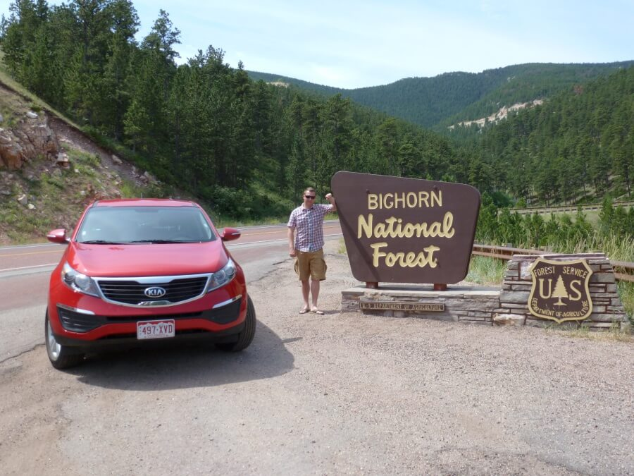 Roadtrip durch die Bighorn Mountains
