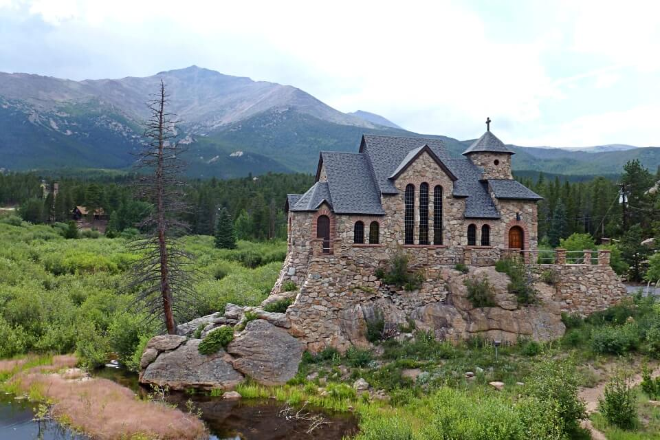 Kirche im Rocky Mountains Nationalpark