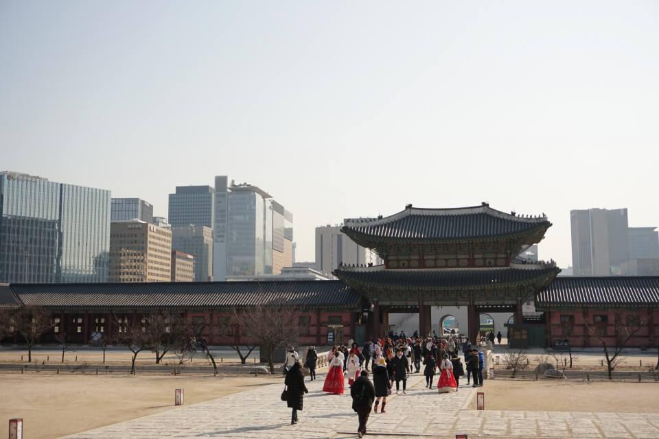 Der Gyeongbokgung Palast in Seoul - Reiseblog Road Traveller