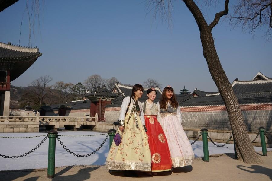 Gyeongbokgung Palast in Seoul
