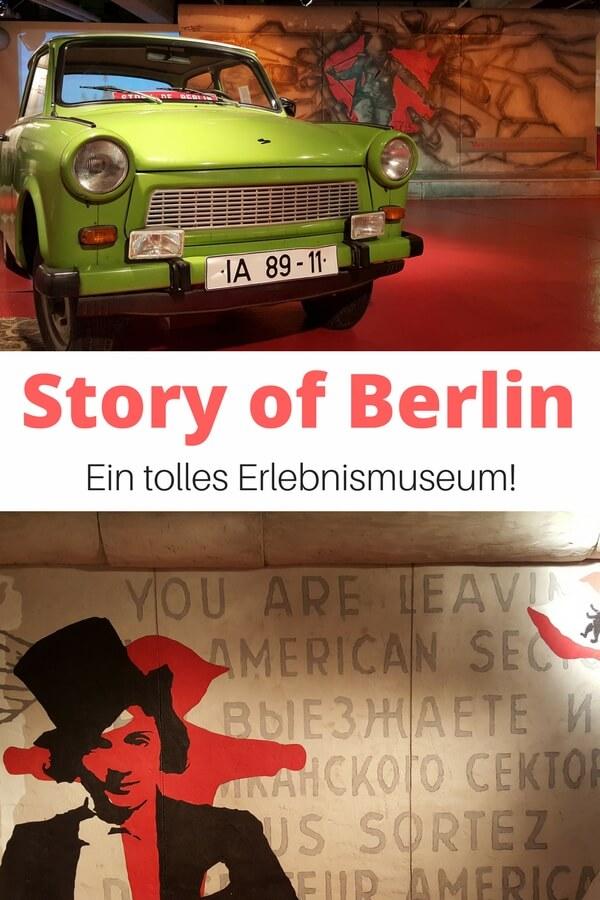 Die Story of Berlin - ein tolles Erlebnismuseum in der Hauptstadt. Unsere Tipps, Eintrittspreise und Öffnungszeiten - www.road-traveller.de