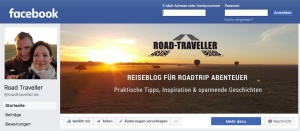 Road Traveller auf Facebook