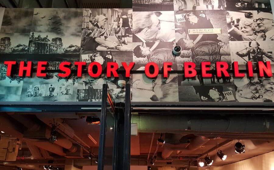 Eingang zur Story of Berlin im Kudamm-Karree