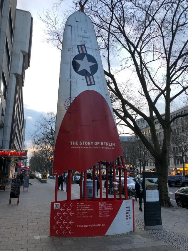 Die Story of Berlin mit Atomschutzbunker direkt am Kudamm