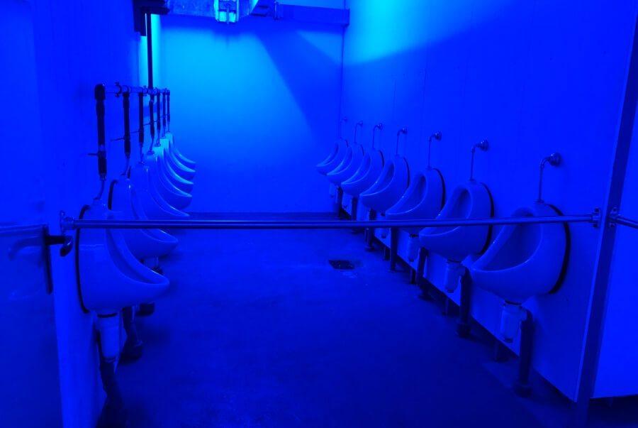 Sanitaerraeume im Atomschutzbunker