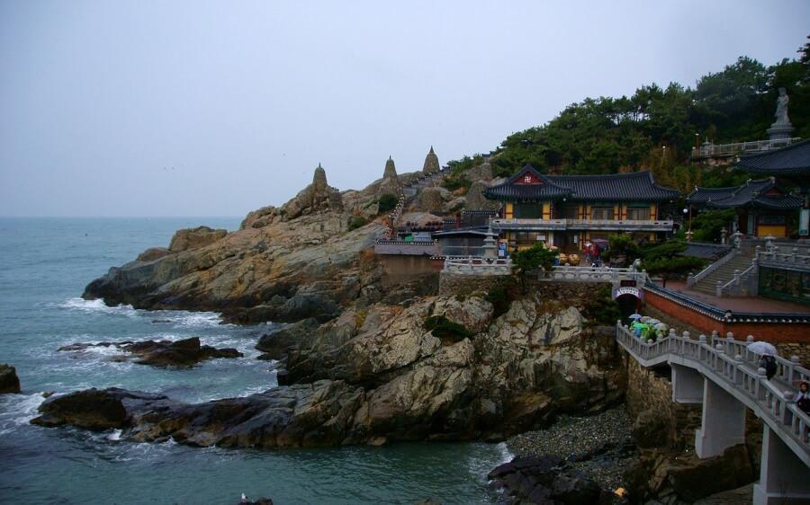 Haedong Yonggungsa Tempel in Busan