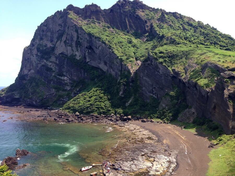 Strand auf Jeju Island