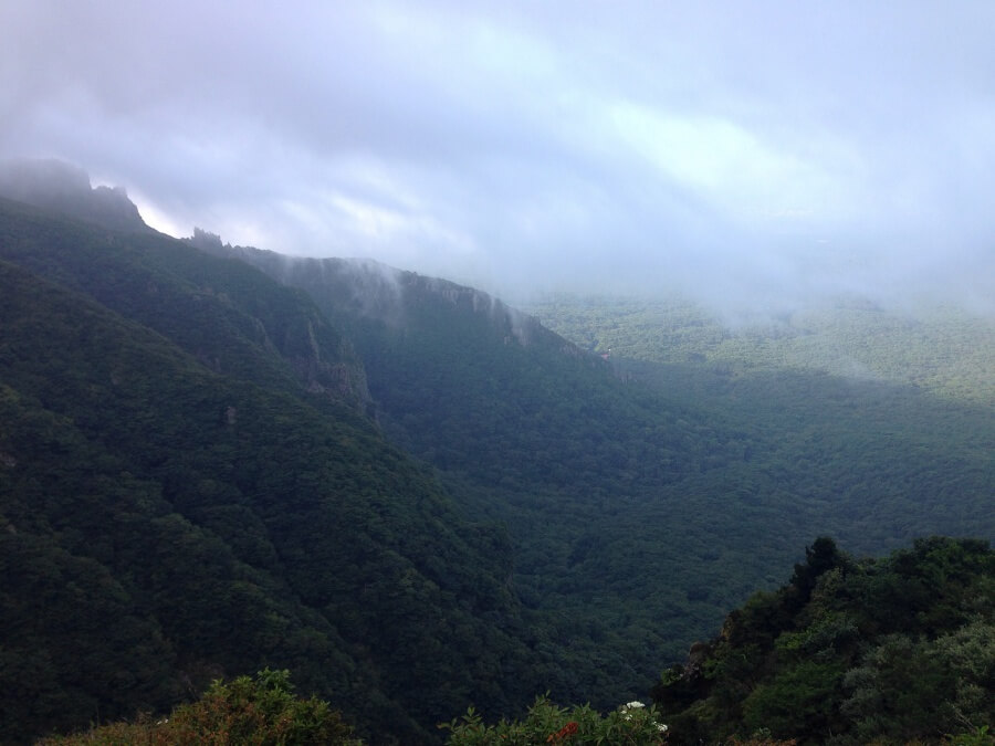 Unglaublich tolle Natur auf Jeju Island in Suedkorea