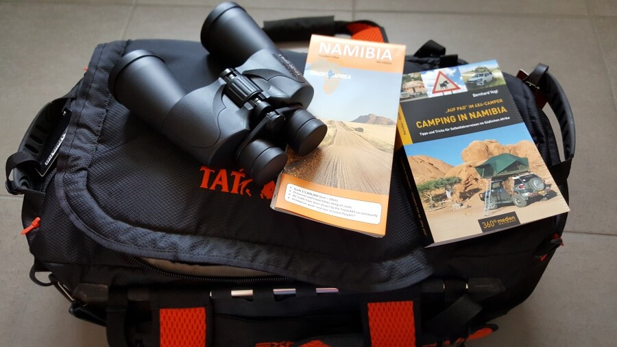 Namibia Camping Packliste