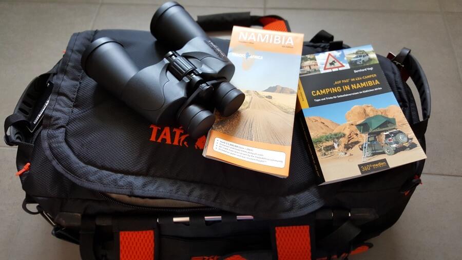 Namibia Camping Packliste (Werbung wegen Markennennung)