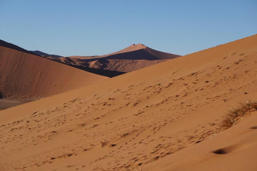 Duenen im Sossusvlei Namibia