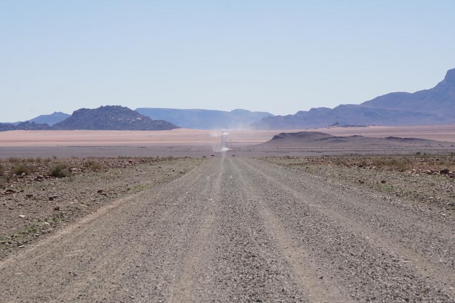 Piste durch das Namib Rand Reservat in Namibia