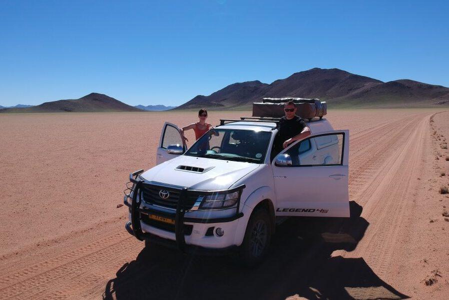 Namibia eignet sich perfekt für eine Camping Reise mit dem Dachzelt